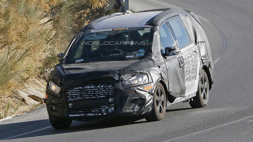 2016 Ford Galaxy spied inside and out