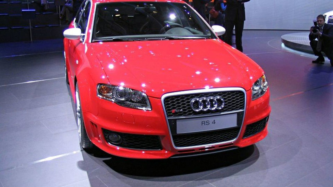 Audi RS 4 Avant at Geneva