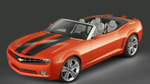 Chevrolet Camaro Convertible Concept Revealed