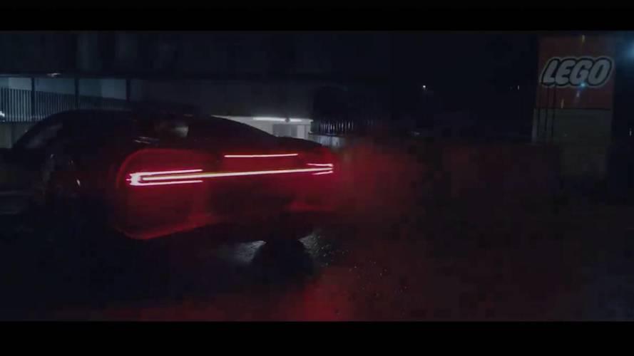Bugatti Chiron, con Lego la hypercar in mattoncini