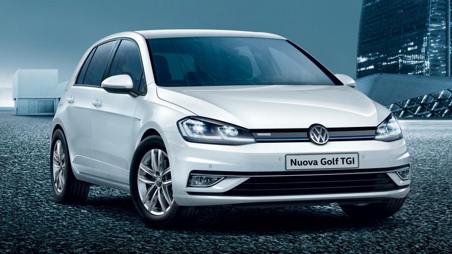 Volkswagen Golf a metano, stesso prezzo del benzina