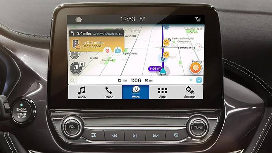 Ford Sync 3 with Waze