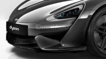 Dyson Car, il rendering