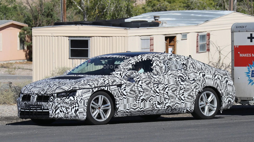2018 VW CC hides its sleek body underneath full camo