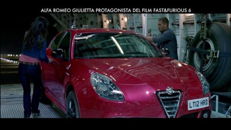 Alfa Romeo Giulietta è in promozione con Fast&Furious 6