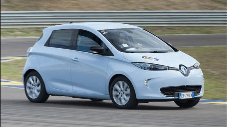 Renault ZOE: in pista per la prima Press ecoRace