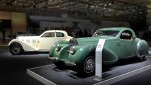 Bugatti brings 1937 T57 Ventoux and 1939 T57C Atalante at Techno Classica