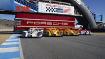 Porsche Rennsport Reunion IV - classic racers take to the track [video]