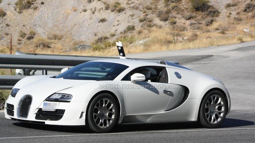 Bugatti Veyron 16.4 Grand Sport Super Sport spied