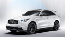 Infiniti FX50 Performance Concept by Vettel 29.08.2011