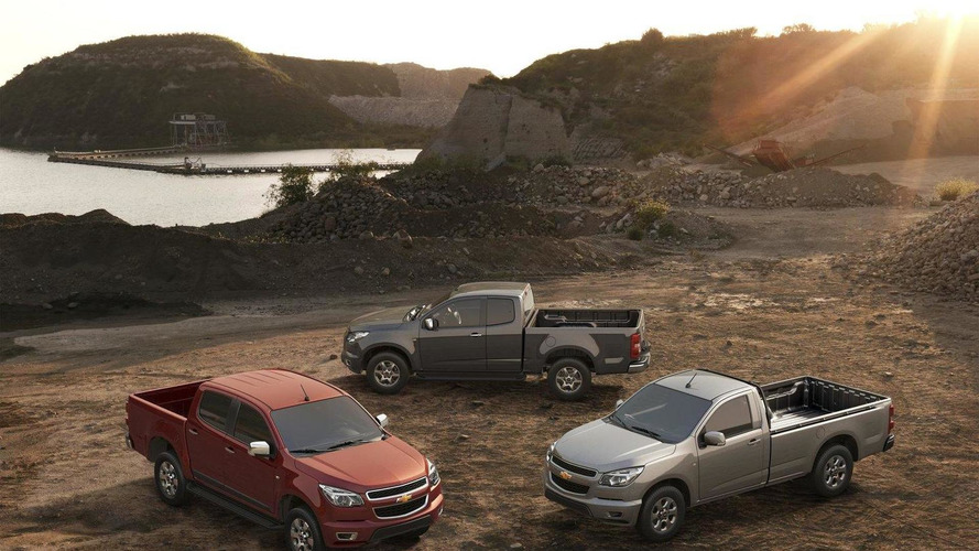 Chevrolet Colorado & GMC Canyon could be launched in the U.S. in late 2014 - report