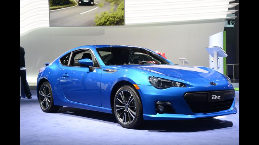Subaru al Salone di Detroit 2013