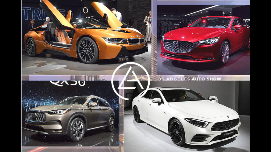 Die Highlights der Los Angeles Auto Show