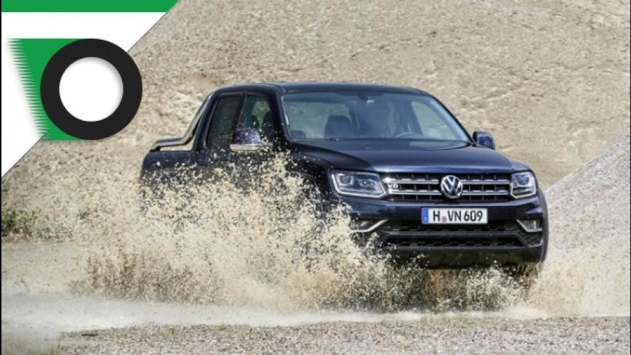 Nuovo Volkswagen Amarok V6, la prova di OmniFurgone.it
