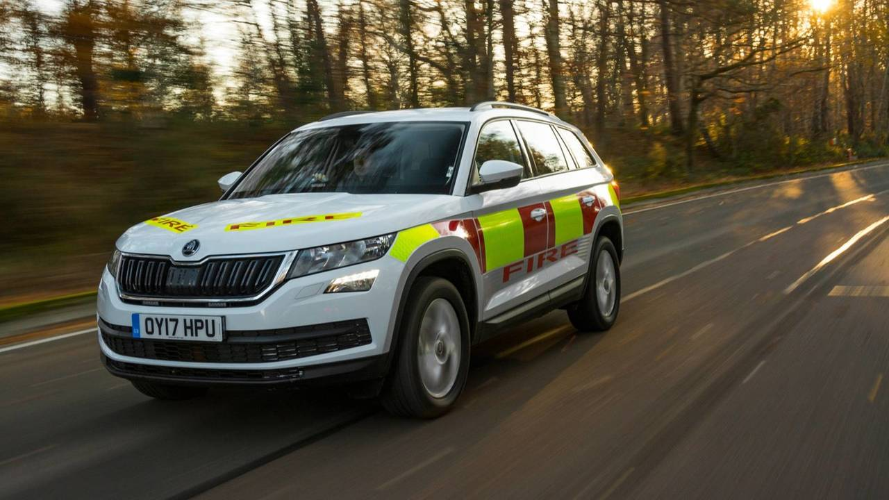 Skoda emergency vehicles