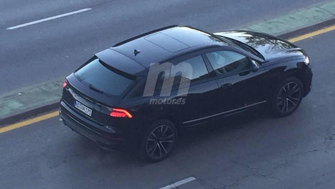 New Audi Q8 Spy Photos
