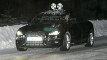 2009 Audi S4 spied in Sweden