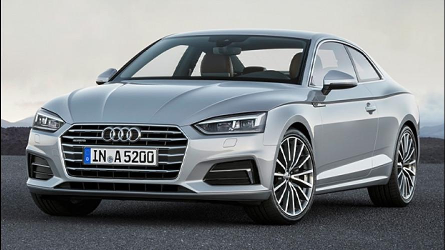 Nuova Audi A5 Coupé, la sportività elegante