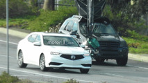 2018 Acura TLX Refresh Spy Photos