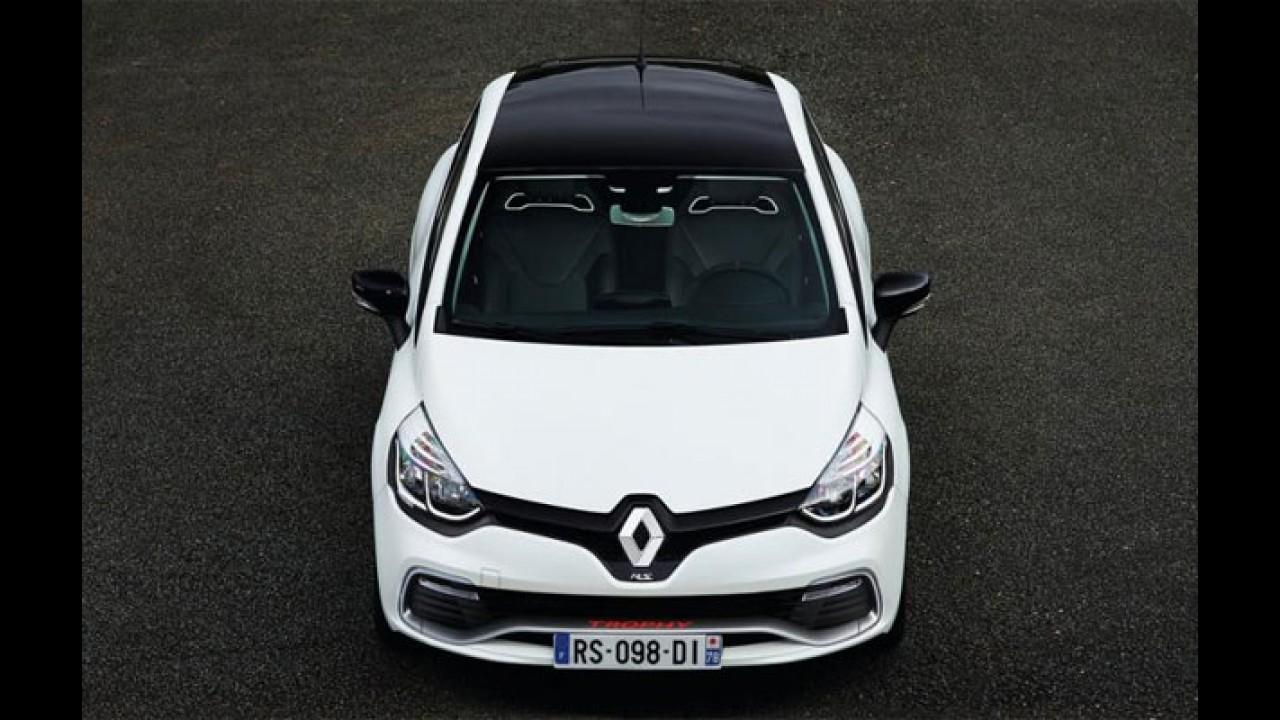Genebra: Renault Clio RS Trophy tem motor 1.6 turbo de 220 cavalos