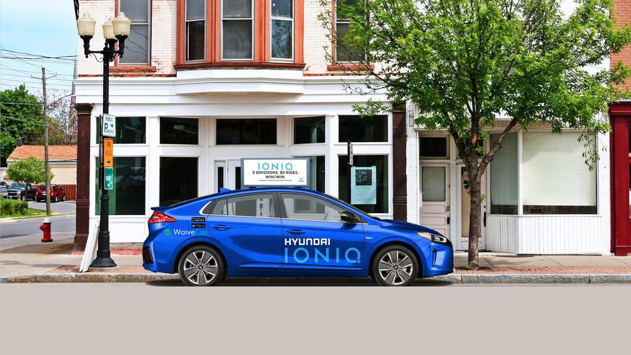 Hyundai Ioniq Electric WaiveCar