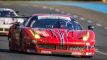 62 Scuderia Corsa Ferrari 458 Italia- Bill Sweedler, Jeff Segal, Townsend Bell