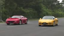Acura NSX-R and Ferrari F355 drag race transports us back to 1995