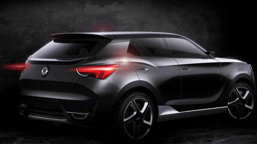 SsangYong SIV-1 concept headed to Geneva