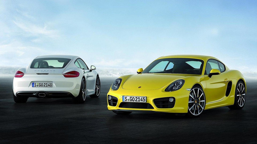 2013 Porsche Cayman official images released