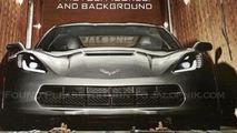 2014 Chevrolet Corvette leaked photo 12.1.2013