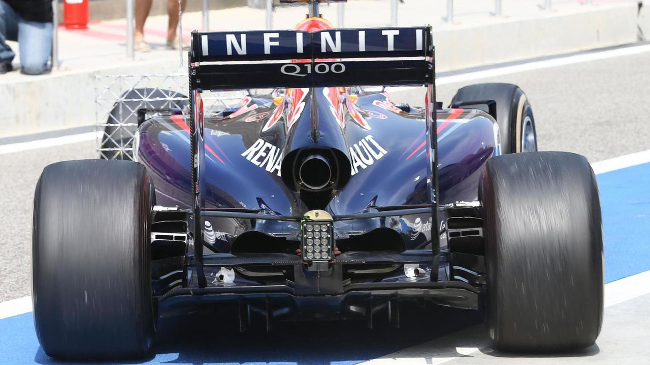 Daniel Ricciardo (AUS) rear engine cover detail / XPB