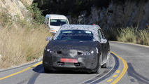 Nissan's Golf competitor spied for the first time with production body