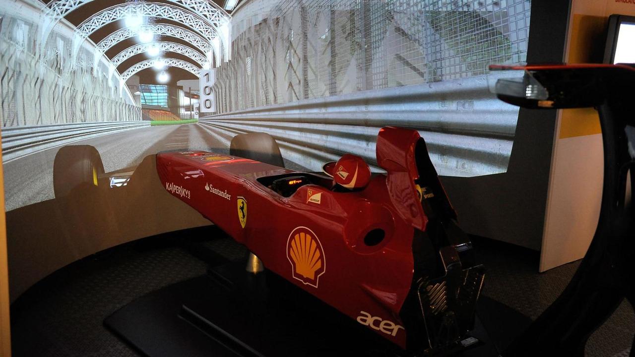 Ferrari Simulator 09/20/2012