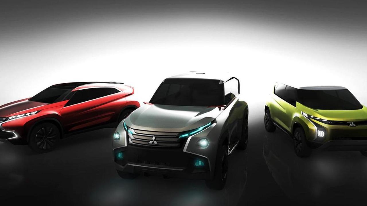 Mitsubishi Concept AR, GC, XR 20.11.2013