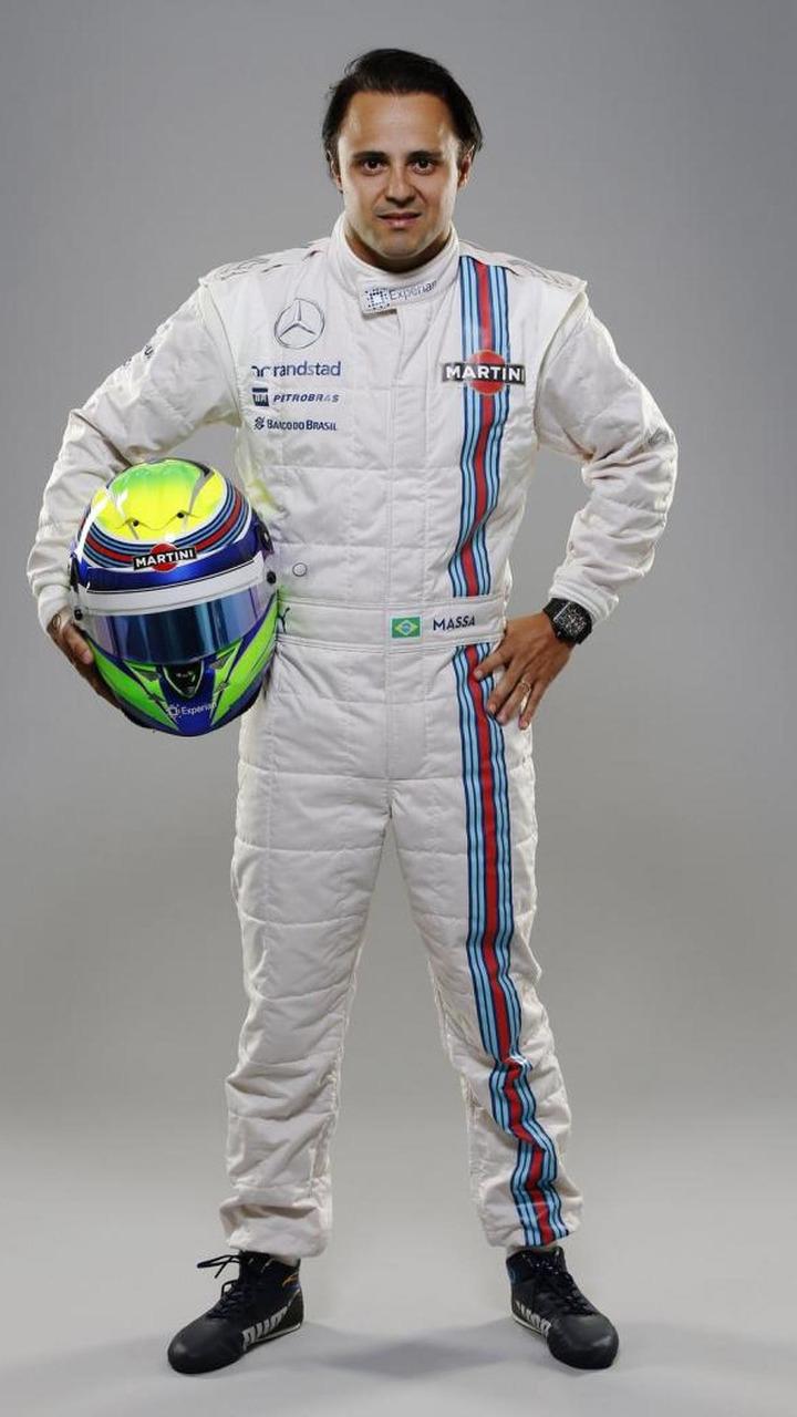 Felipe Massa Williams Martini Racing Launch