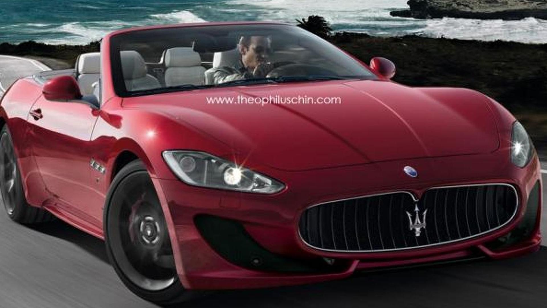 Maserati GranCabrio Sport rendered & speculated