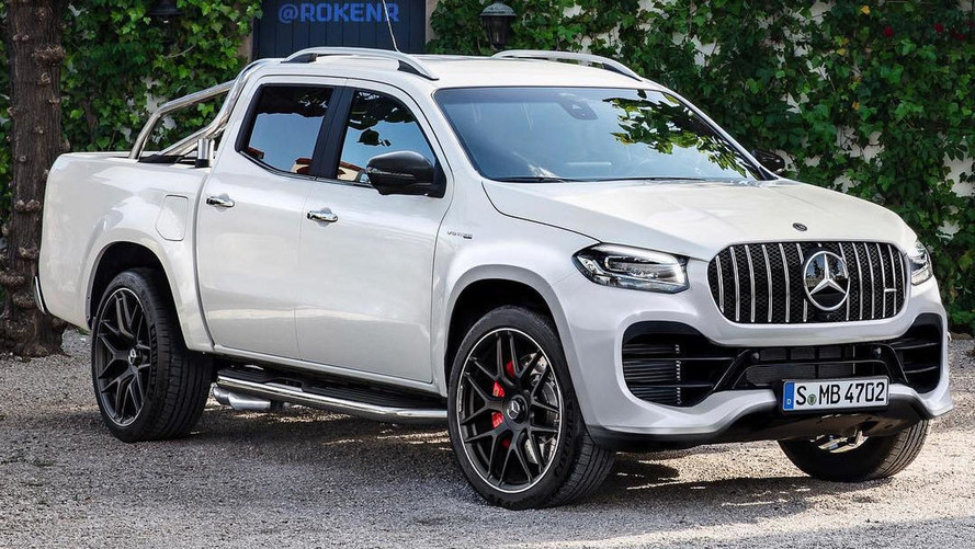 Mercedes-AMG X63 Rendering Is So Bad, It's Good