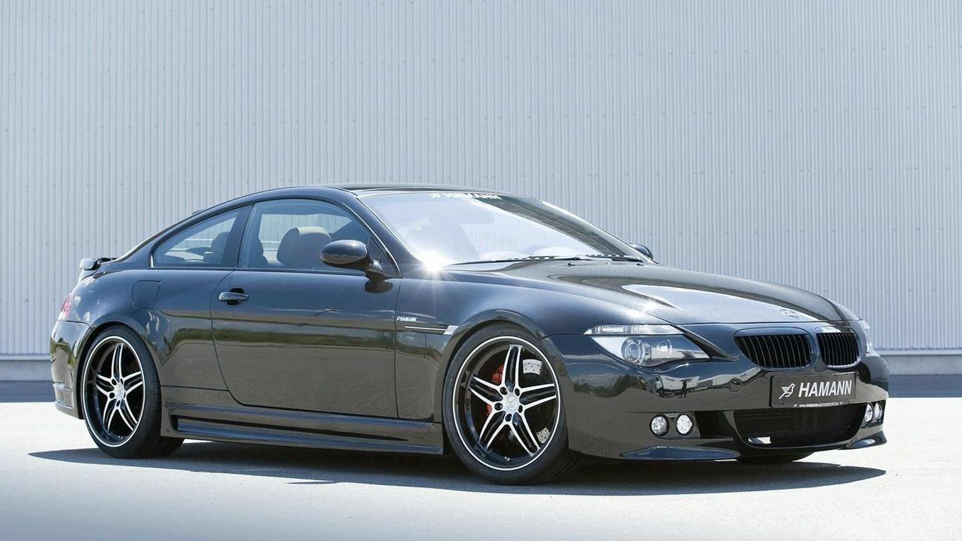 Hamann Tackles BMW Series Facelift - 2003 bmw 6 series