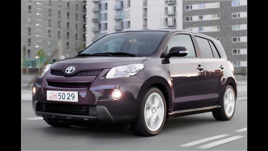 Toyota Urban Cruiser: Der Stadt-Allradler kommt im Mai 2009