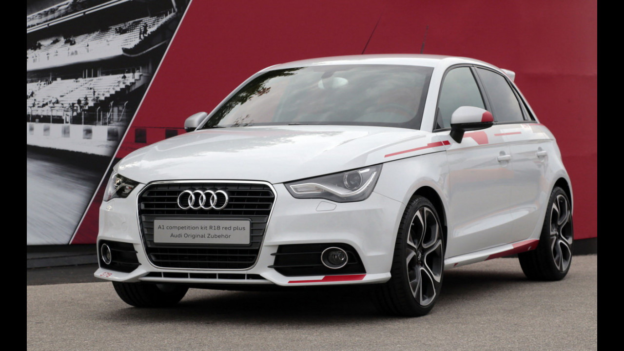 Audi A1 R18 competition