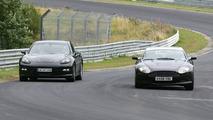 Aston Martin Rapide Vs Porsche Panamera