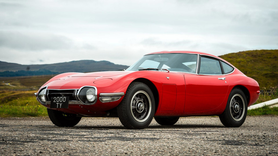 Beautifully restored Toyota 2000GT reveals mystery gun shot