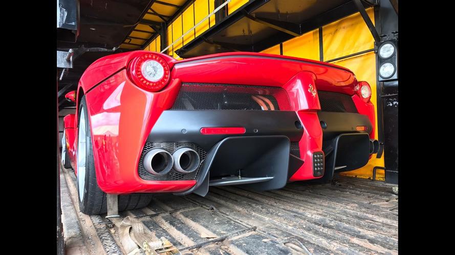 Ferrari LaFerrari seized