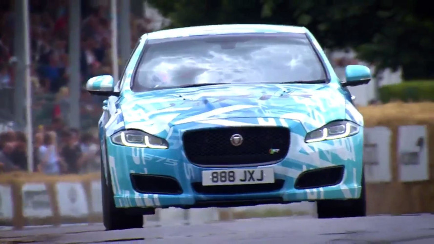2018 Jaguar XJR at 2017 Goodwood Festival of Speed