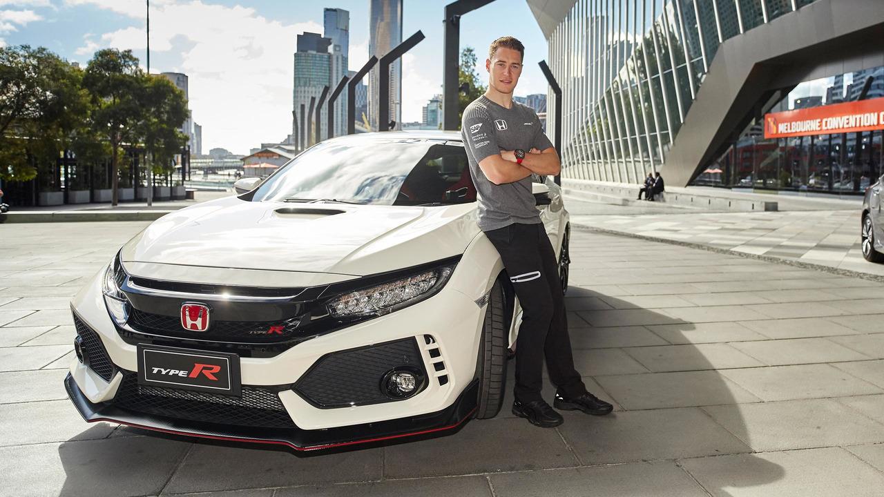 Honda Civic Type R Vandoorne