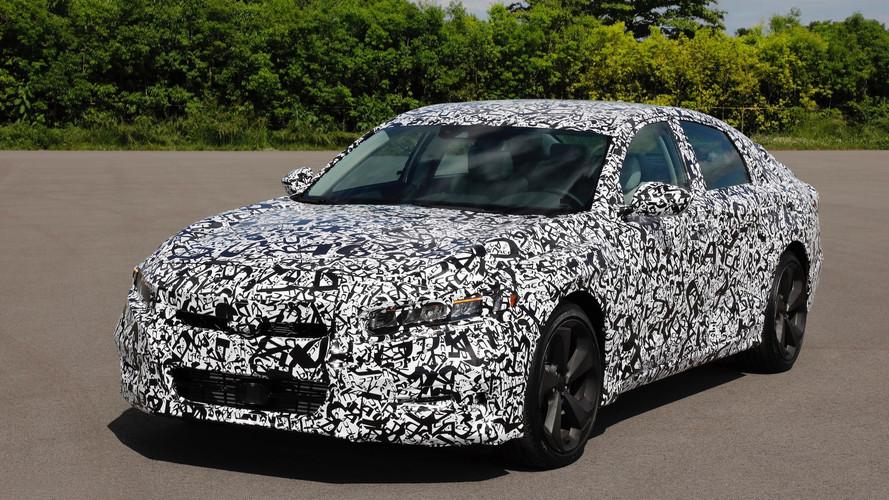 2018 Honda Accord turbo motorlarla gelecek