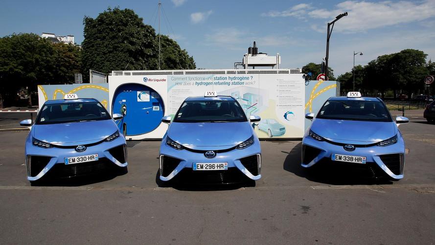 La Toyota Mirai est maintenant un taxi Hype