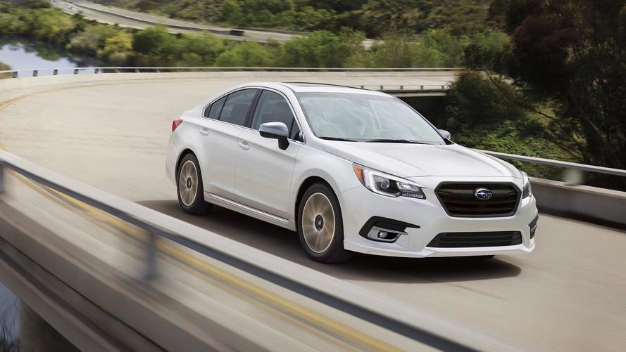 Updated 2018 Subaru Legacy Gets $200 Bump, Starts At $22,195