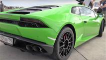 Lamborghini Huracan Gosha Turbo Tech