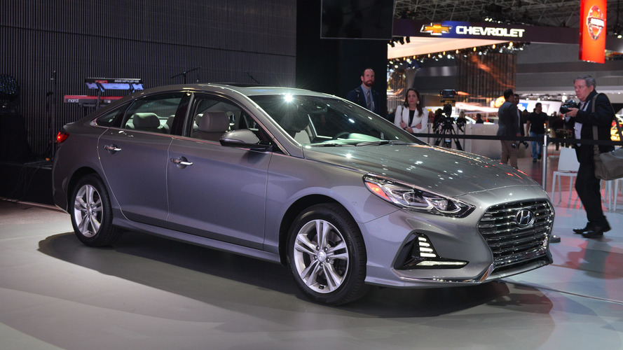 2018 hyundai sonata facelift. brilliant facelift with 2018 hyundai sonata facelift